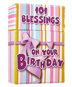 "BOX OF BLESSINGS ""101 Blessings On Your Birthday"""