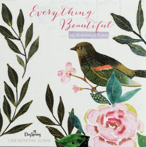 "WANDKALENDER  Stephanie Ryan ""Everything beautiful"""