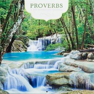"""WANDKALENDER """"Proverbs"""""""