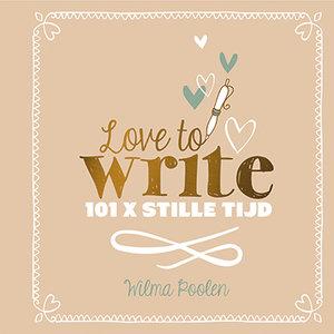 """CREATIEF DAGBOEK Wilma Poolen """"Love to write !"""""""