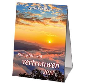 "KALENDER 2018 Fatzer ""Jaar van Vertrouwen"" HSV minikalender"