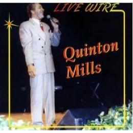 "CD+DVD Quinton Mills ""Live Wire"""
