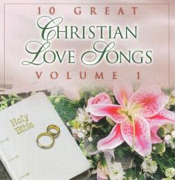 """CD Various Artists """"10 Great Christian Love Songs"""" Vol.1"""