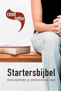 Roodletter Startersbijbel | MCMS.nl