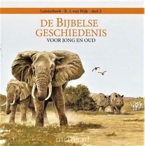 Luisterboek (CD) Bijbelse Geschiedenis deel 2