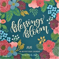 Blessings Bloom - Wandkalender 2020 Large