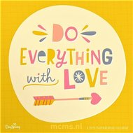 Do Everything with Love - Wandkalender 2020 Large