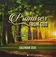 Promises from God - Wandkalender 2020 Large 25x25cm