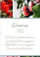 Kerstwenskaart God met ons | mcms.nl