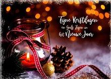 Enkele Kerstwenskaart met enveloppe | mcms.nl