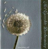Met Oprechte Deelneming - condoleancekaart